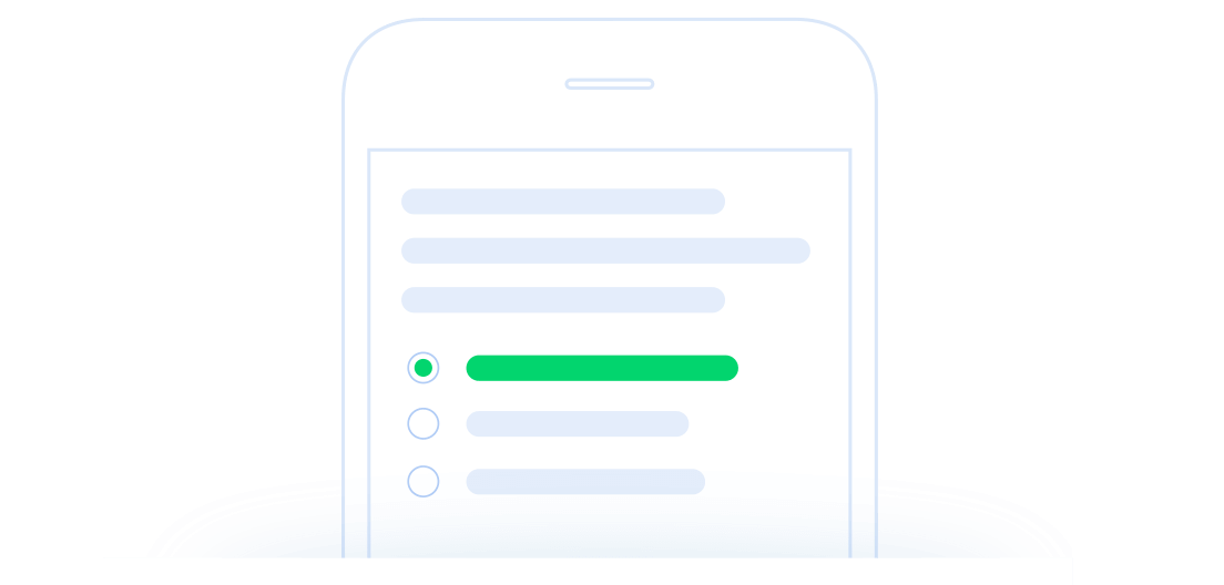 Create surveys with ease